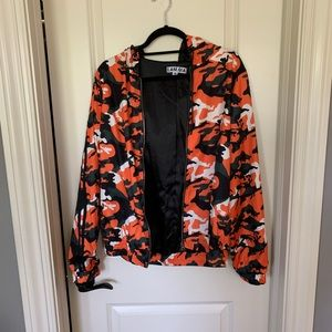 i.am.gia camo zip up jacket